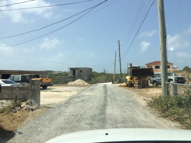 Anguilla-residential-house-driving